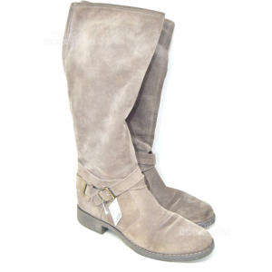 Boots Woman Black Gardens Suede N° 40