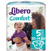 LIBERO COMFORT 5  10-14kg x24pz