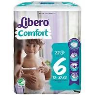 LIBERO COMFORT 6 13-20kg x22pz