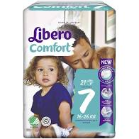 LIBERO COMFORT 7  16-26kg x21pz