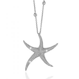BROCCHI, collana stella marina