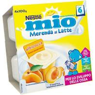 MERENDA ALBICOCCA 4x100gr