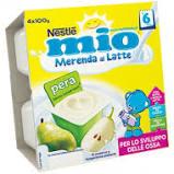 MERENDA PERA E LATTE 4x100gr