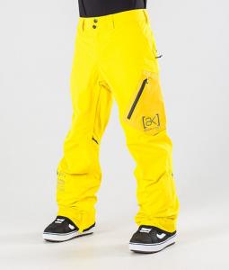 Pantaloni Snowboard Burton AK Gore Cyclic Yellow