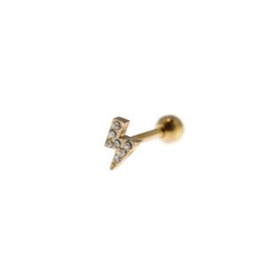 Helix piercing Fulmine