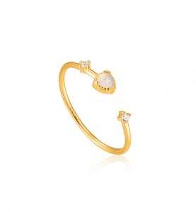 Anello Gold Midnight Adjustable