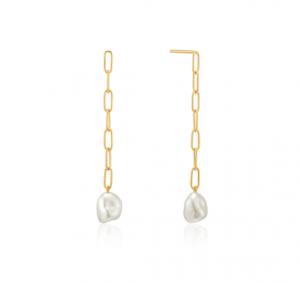 Orecchini Pearl Chunky Drop