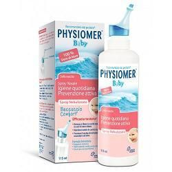 PHYSIOMER BABY SPRAY PER IL LAVAGGIO NASALE 115ML