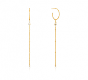 Gold Midnight Drop Earrings
