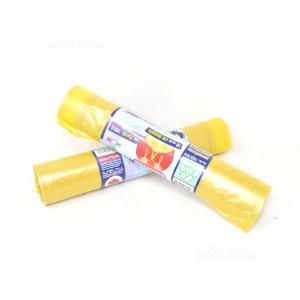 Sacco per raccolta differenziata con maniglie 110lt 72x105cm 2x10 Sacchi