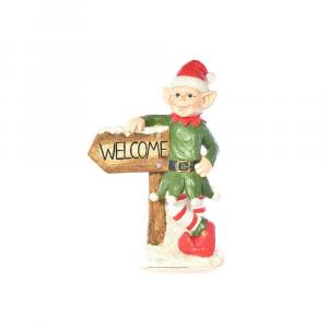 Elfo Giullare con cartello