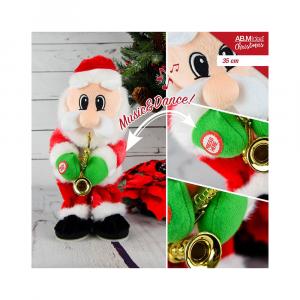 Babbo Natale con Movimento e  Musica H35cm