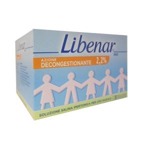 LIBENAR IPER SOLUZIONE SALINA IPERTONICA STERILE DECONGESTIONANTE 30 FLACONCINI MONODOSE