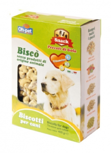 OH-PET BISCOTTI ALL'ANANAS PER CANE 400GR