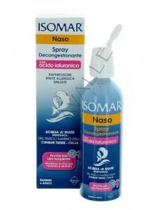 Isomar Spray Decongestionante Con Acido Ialuronico 100ml