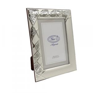 Geo's portafoto bilaminato argento 10x15