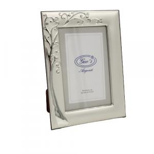 Geo's portafoto bilaminato argento albero della vita 10x15cm