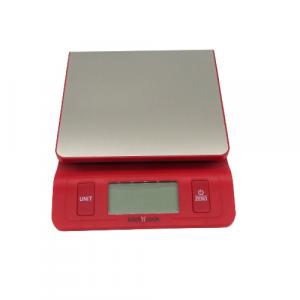 Bilancia cucina digitale rossa 5 kg