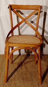Sedia in legno di teak con seduta