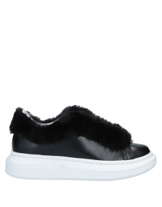 Gaelle Paris Sneakers con Pelliccia da Donna
