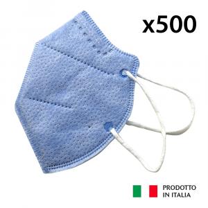 500 MASCHERINE PROTETTIVE FFP2 DPI III CATEGORIA