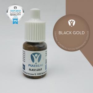 Pigmento Liquido per PMU Purebeau - Black Gold (5 ml)