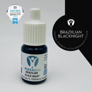 Pigmento Liquido per PMU Purebeau - Brazilian Black Night (5 ml)