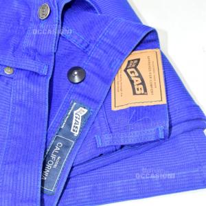 Pants Man Gas Blue Costine Size 34