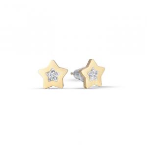 Orecchini donna Luca Barra con stelle e glitter