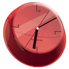 Orologio glamour rosso