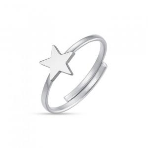 Luca Barra - Anello in acciaio con stella