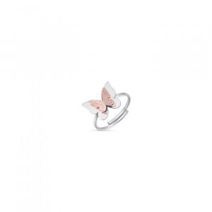 Anello donna Luca Barra con farfalla