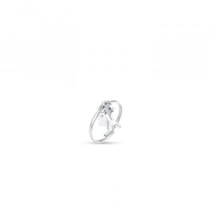 Anello donna Luca Barra con stella e luna