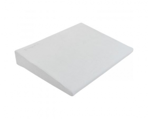 Kikka Boo - cuscino triangolare da lettino - Velluto grigio chiaro