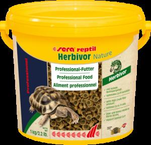 Sera reptil Professional Herbivor Nature 1000ml  mangime bicomponente per i rettili erbivori
