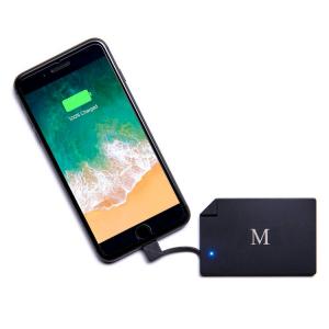 Power Monogram - carica batteria portatile personalizzato per iPhone