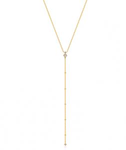 Gold Midnight Y Necklace
