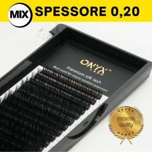Ciglia - Curva B / Spessore 0,20 - MIX