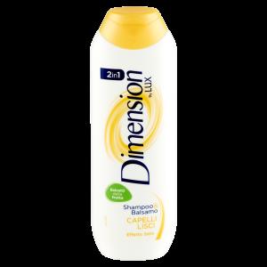 DIMENSION Lux Capelli Lisci Shampoo&Balsamo 2in1 250ml
