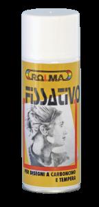 Bomboletta Spray Fissativo per disegni a carboncino e tempera