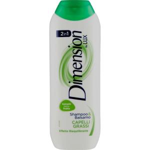 DIMENSION Lux Capelli Grassi Shampoo&Balsamo 2in1 250ml