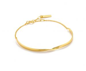 Gold Twist Bracelet