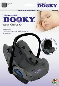 DOOKY - Coprisedile Dooky 0m + (stelle grigie)