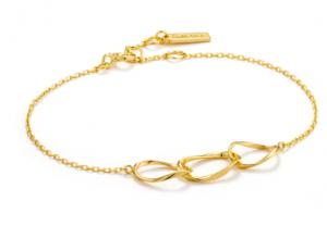 Gold Swirl Nexus Bracelet