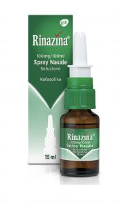 Rinazina Spray Nasale 15ml 0,1%