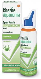 Rinazina Aquamarina Isotonica Aloe Spray Nebulizzazione Intensa 100ml