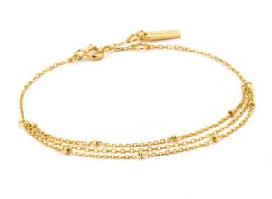Gold Draping Swing Bracelet