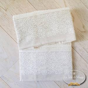 Asciugamani Chicco di riso
