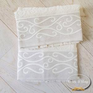 Asciugamani Egitto panna