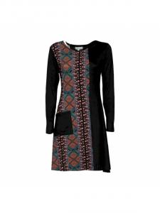Vestito stile etnico manica lunga | Nuova collezione Baba online